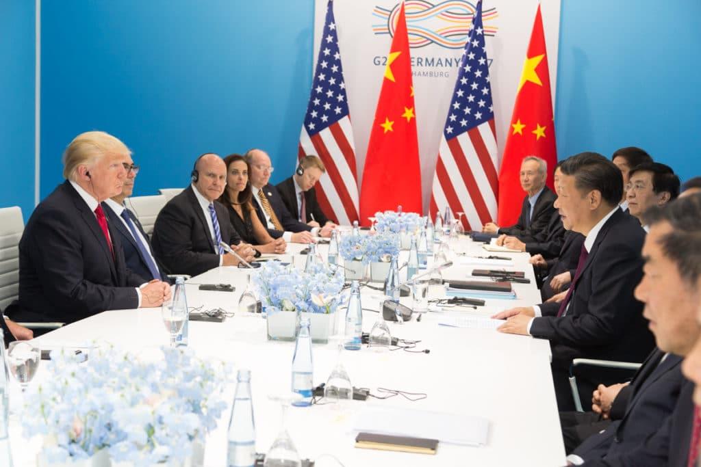 President Donald J. Trump and President Xi Jinping at G20 July 8 2017 1024x683 - Rates Plummet... Savings Soar!