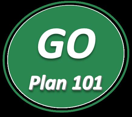 round goplan101 - GoPlan101 Landing Page